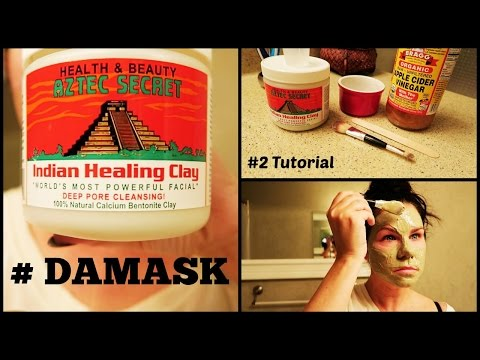 How To Use  Indian Healing Clay Mask #damask #2 Tutorial