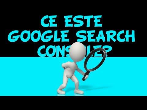 Cum se foloseste Google search console in 2017?