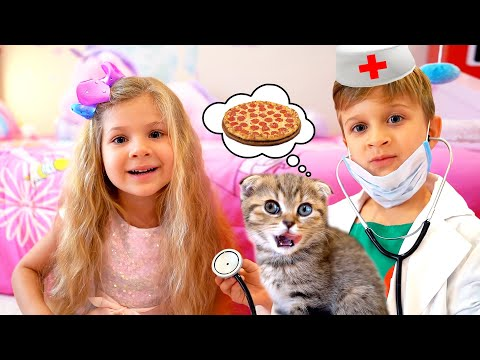 Диана и Рома новые веселые истории для детей - Видео онлайн
