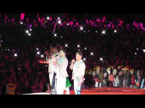 Westlife You Raise Me Up at Croke Park on 23rd Jun.2012