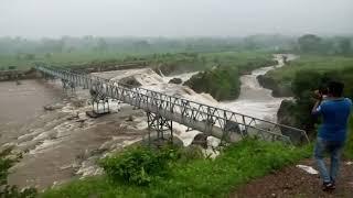 Kali dam Dahod overflow on 17 Aug 2017