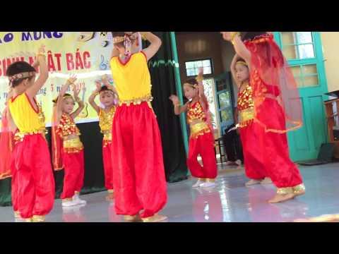 Múa về quê củ - MGL Trường MN Hoa Mai Cam Nghĩa - Cam Lộ - Quảng Trị