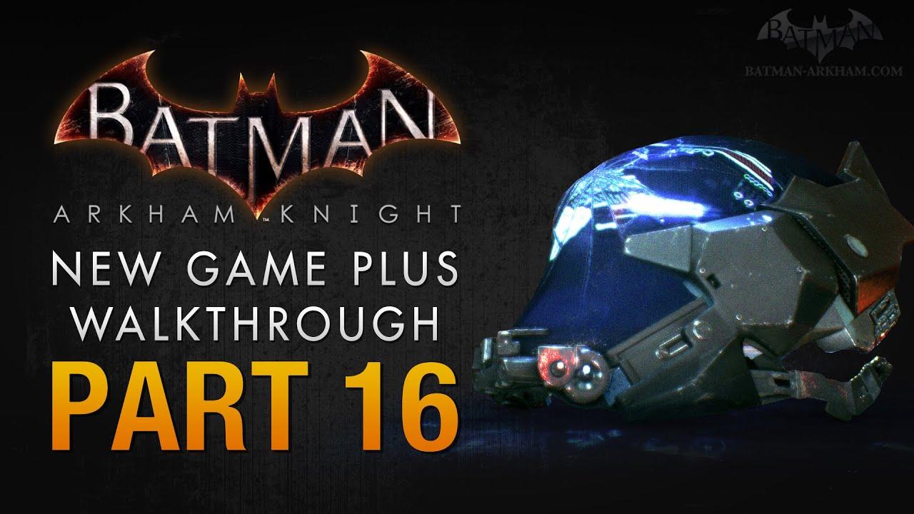 Batman: Arkham Knight Walkthrough - Part 16 - Arkham Knight's Identity