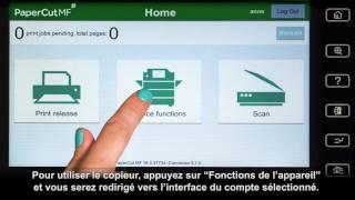 PaperCut MF pour les appareils multifonctions Konica Minolta