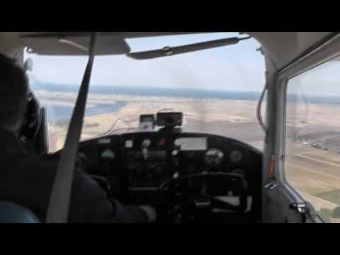 My Flight to Hampton Airfield and Plum Island Airfield
