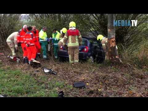 Gewonde bij eenzijdig ongeval Rijksstraatweg Hellevoetsluis