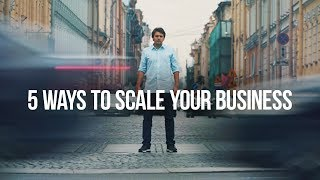 5 WAYS TO SCALE YOUR BUSINESS | WE ARE WNOG MEDIA NOW! | #DayWithVas 027