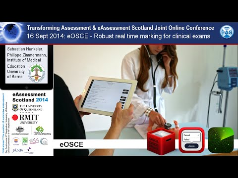 eOSCE - robust real time electronic marking for clinical examinations