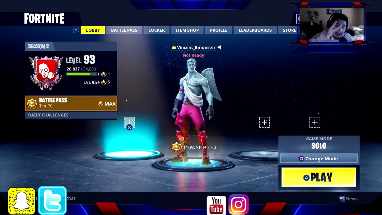 How To Invite Your Account To Your Party Fortnite Fortnite How To Invite Friends Youtube