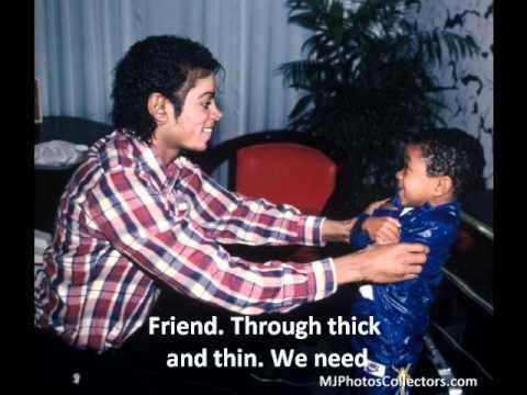 Michael Jackson- Best of Joy Lyrics w/ Rare photos