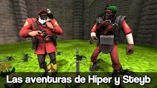 TF2: Las aventuras de Hiper y Steyb - Jumps, Zelda y Pokemon