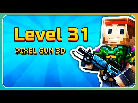 Duell im Mehrspieler! Level 31 erreicht. | Pixel Gun 3D [Deutsch]