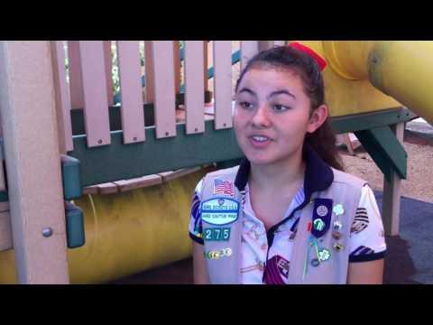 Girl Scout Gold Award Recipient: Sophia Kirkland Preschool Garden