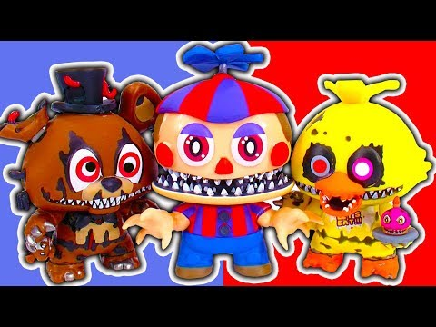 FNaF Sister Locations Nightmare Scary POP Vinyl Toys & Jump Scares Part 2