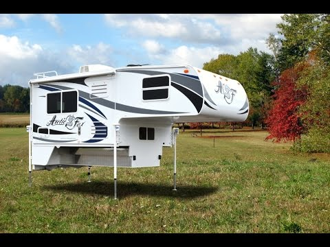 Beautiful 2016 Arctic Fox 1140 | Truck Camper | 4 Season | Doovi