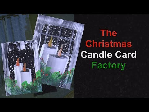 The Christmas Candle Card Factory