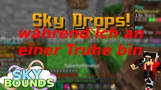 SKYDROP WHILE I AM STANDING AT A CHEST! | Minecraft Skybounds #024 | German-Mobilezocker