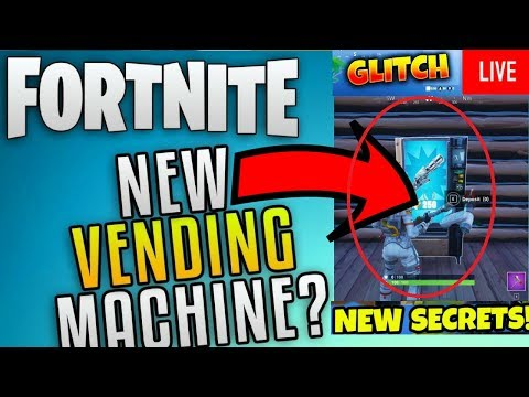 ✅ Vending Machine Fortnite Location With Trailer,Glitch + How To Find New Fortnite Vending Machine