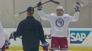 Unfiltered Rangers: Ryan Strome Mic'D Up | New York Rangers