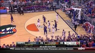 Scouting Andrew Wiggins - Kansas vs Florida (2013-Dec-10)