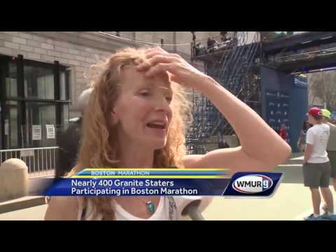 Nearly 400 Granite Staters participating in Boston Marathon