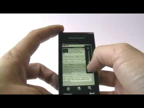 Sony Ericsson Satio (Idou) Review - Internet only