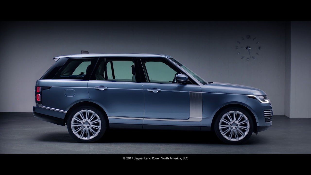 2018 Range Rover Exhaust Land Rover Usa Youtube