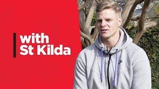 With St Kilda: Nick Riewoldt