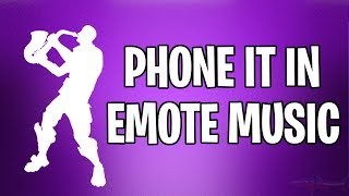 *NEW* PHONE IT IN EMOTE MUSIC EPIC SAX GUY FORTNITE BATTLE ROYALE