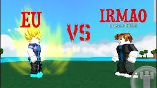 ROBLOX: I VS MY IRMAO (DRAGON BALL RAGE)
