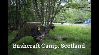 Forest Summer Bushcraft Camp. Scotland