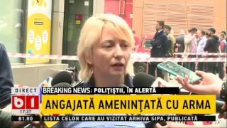 STIRI B1 TV POLITIA IN ALERTA, JAL LA O BANCA DIN BUCURESTI