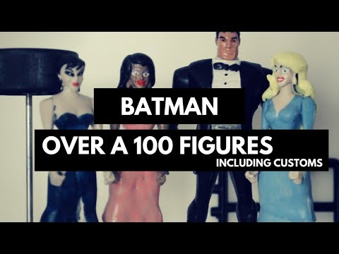 Batman The Animated Series: Over a 100 Action Figures
