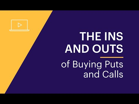 The Ins and Outs of Buying Puts and Calls