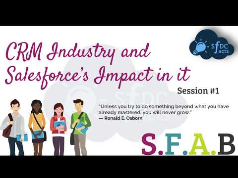 What Is CRM? Impact of Salesforce In CRM Industry
