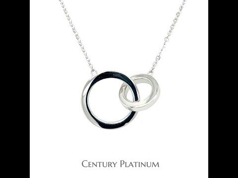 世紀白金 PT950 鉑金項鍊 套鍊 可調長度 (40/43cm) 稀有鉑金 永恆純淨 WSD002