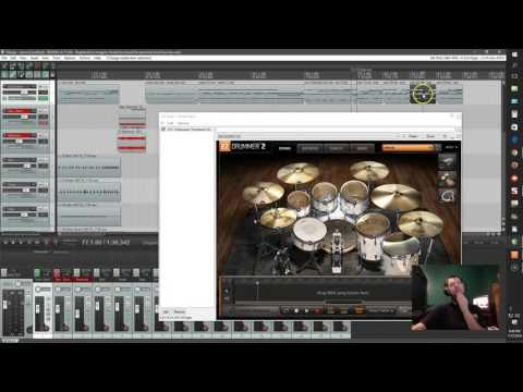 Reaper drum MIDI time signature/tempo changes/editing