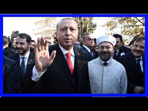 NEWS 24H - On the historic trip, Turkey-erdogan meet Muslims in Greece