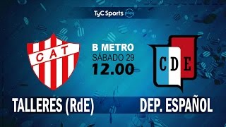 CA Talleres Remedios de Escalada vs Dep.Espanol full match