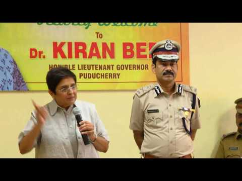 Lt. Governor's address to the trainees of Police Training School, Puducherry