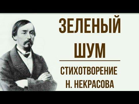 «Зеленый шум» Н. Некрасов. Анализ стихотворения