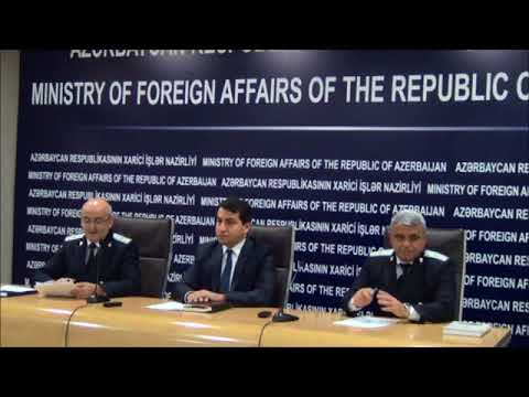 Joint Statement by MFA & Prosecutor General's Office of Azerbaijan