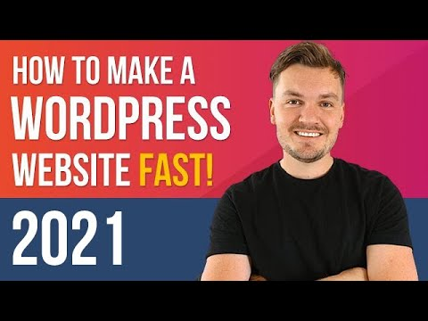 FAST Wordpress Tutorial 2020 - How to Make a Website in 8 mins EASY! thumbnail