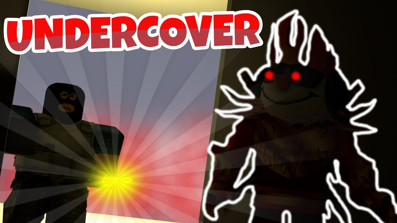 I Go UNDERCOVER in ARSENAL.. (Roblox Arsenal)