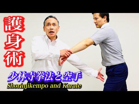 危険から身を守れ!少林寺拳法と空手の護身術【井上弘・中達也】self-defense-techniques-of-shorinjikempo-and-karate