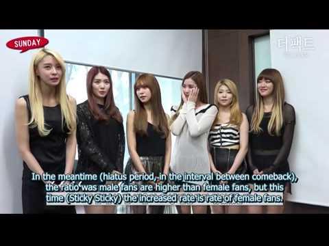 [ENG SUB] Hello Venus The Fact Interview (Sticky Sticky Era, December 2014)