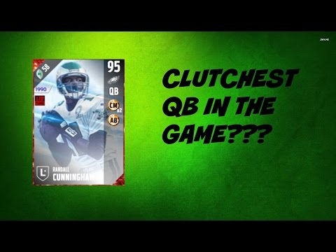 RANDALL CUNNINGHAM IS CLUTCH!!! | MADDEN 17 GAMEPLAY
