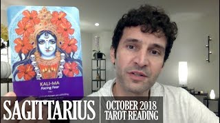 SAGITTARIUS October 2018 - Extended Monthly Intuitive Tarot Reading by Nicholas Ashbaugh