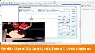 K40 eBay Chinese CO2 Laser Cutter