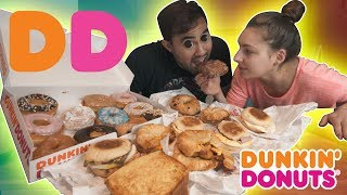 Everything From Dunkin Donuts Challenge